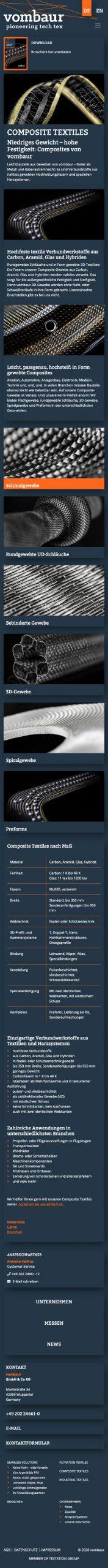 Composite Textiles vombaur_de MOBIL